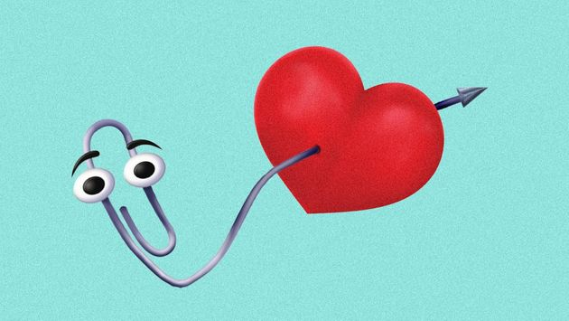 Clippy is the inspiration for this new annoying dating