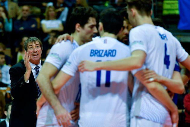Les Français du volley, coachés par Laurent Tillie, seront aux Jeux olympiques de Tokyo...