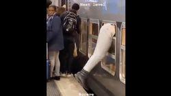 Cet usager du RER a trouvé une technique imparable pour entrer dans les wagons