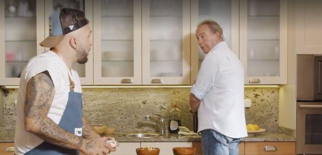 Bertín Osborne y Kiko Rivera en 'Mi Casa Es La Tuya'