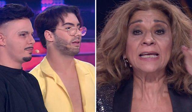 Lolita dejó con esta cara a Los Gemeliers con su pregunta en 'Tu Cara Me Suena' (Antena