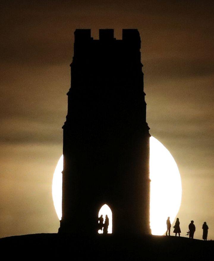 Glastonbury Tor, England.