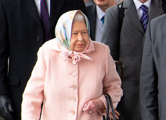 C'est la première fois qu'Elizabeth II était aperçue depuis la fracassante annonce...