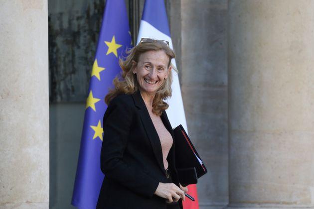 Nicole Belloubet, ici quittant le palais de l'Élysée le 6 janvier