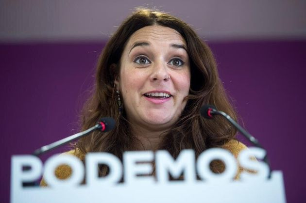 La portavoz de Podemos, Noelia Vera. EFE/ Luca