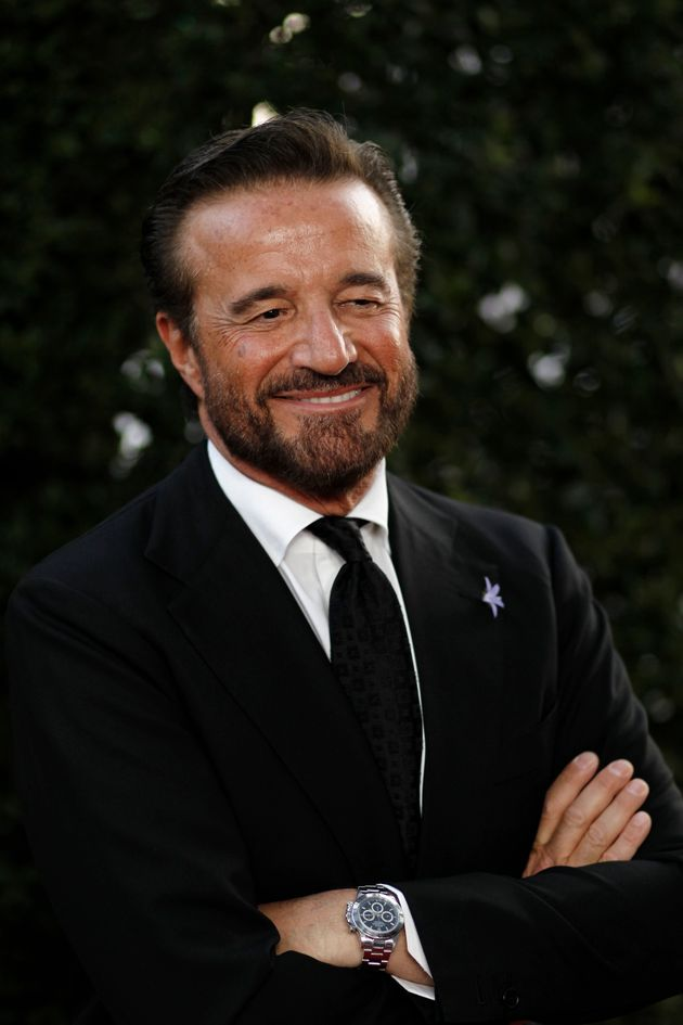 Italian actor Christian De Sica arrives at The Academy of Motion Picture Arts and Sciences Tribute honoring...