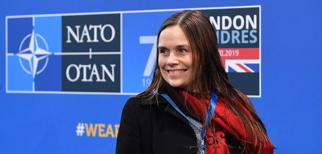 La primera ministra de Islandia, Katrin