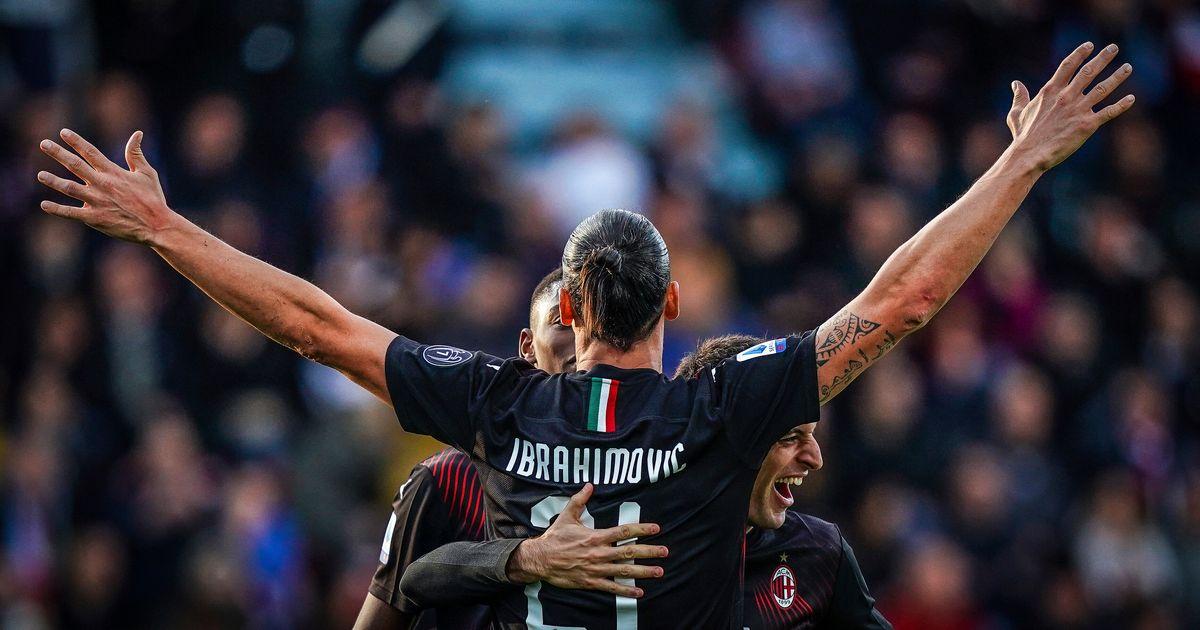 Zlatan Ibrahimovic inscrit son premier but avec le Milan AC | Le Huffington Post