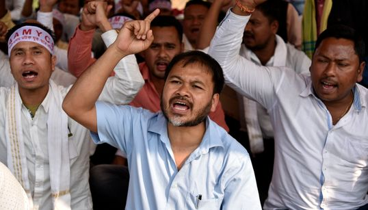 Meet Akhil Gogoi, The Anti-CAA Activist Who's Still Jailed In
