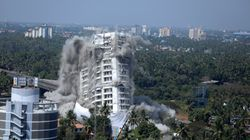 Maradu Flat Demolition: All 4 Luxury Apartment Complexes Razed To The