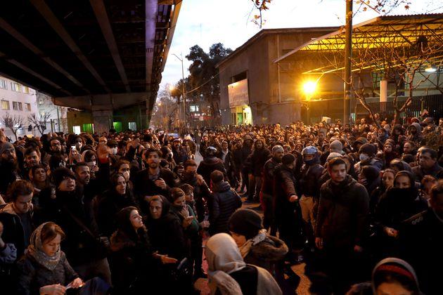 Ιράν: Οργή και διαδηλώσεις για την «κατά λάθος» κατάρριψη του