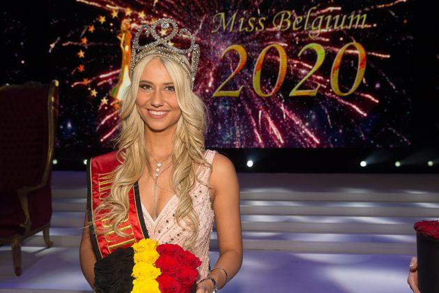 Celine Van Ouystel est Miss Belgique