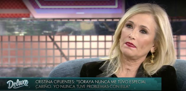Cristina Cifuentes en 'Sábado Deluxe'