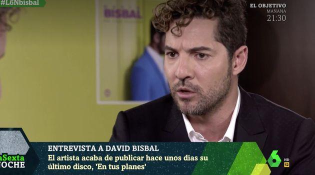 David Bisbal en 'LaSexta