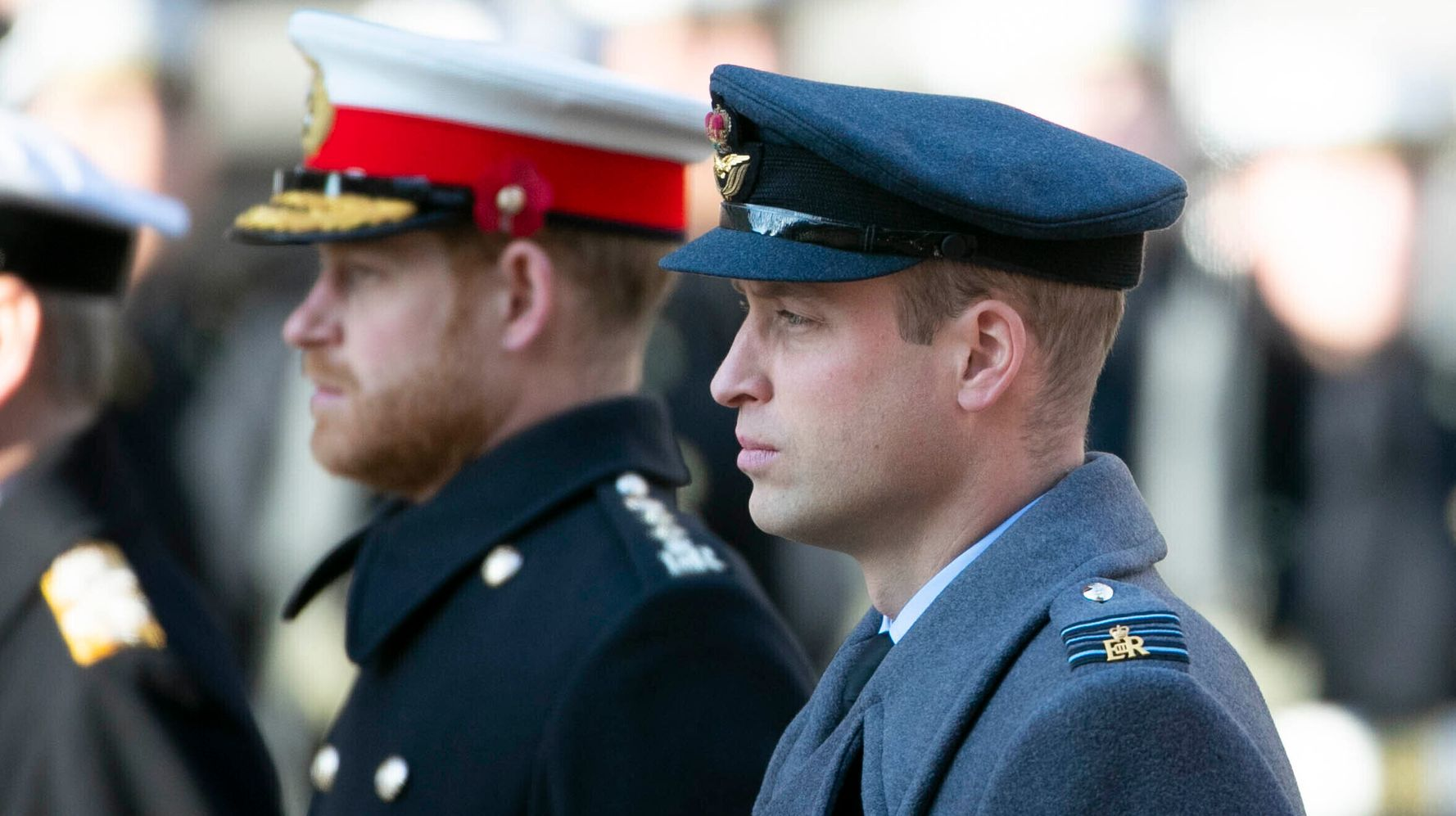 Westlake Legal Group 5e1b0f5e2400003400fd410e Prince William Says He Can't Put His 'Arm Around' Prince Harry Anymore: Report