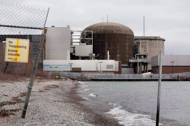 The Pickering Nuclear Generating Station is shown in Pickering, Ont. on, Mar. 16,