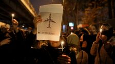 イランのブレースよりの抗議行動の後、ウクライナの受入機撃墜