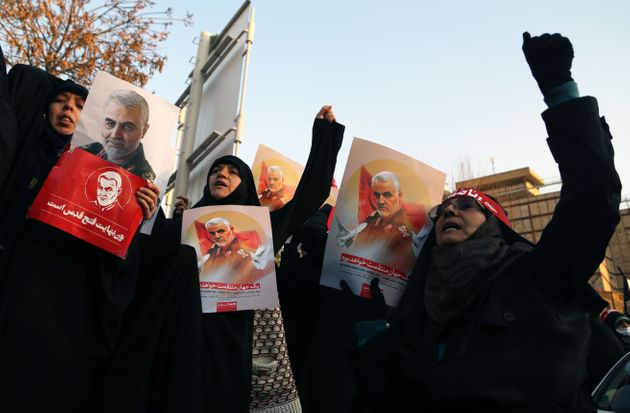 Chants Of Death To England Outside Embassy As British Ambassador Summoned By Iran To Explain Illegal Presence At Protest
