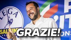 Il re dei social: Salvini sfonda i 4 milioni di fan su