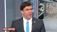 Mark Esper: ich 'nicht Sehen' Spezifische Nachweis Der Iran Threat Zu 4 US-Botschaften