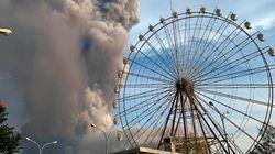 Las impresionantes imágenes del volcán Taal, que está poniendo en riesgo a la población de