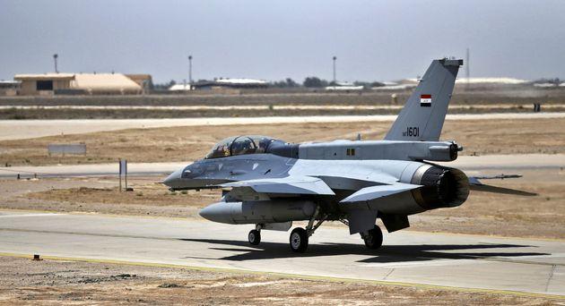 La base aérienne de Balad, dans le nord de l'Irak, le 20 juillet 2015 (réédité le 12 janvier 2020). (photo