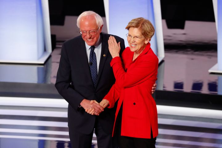Sens. Bernie Sanders and Elizabeth Warren reportedly made a pact not to disparage each other on the campaign trail.