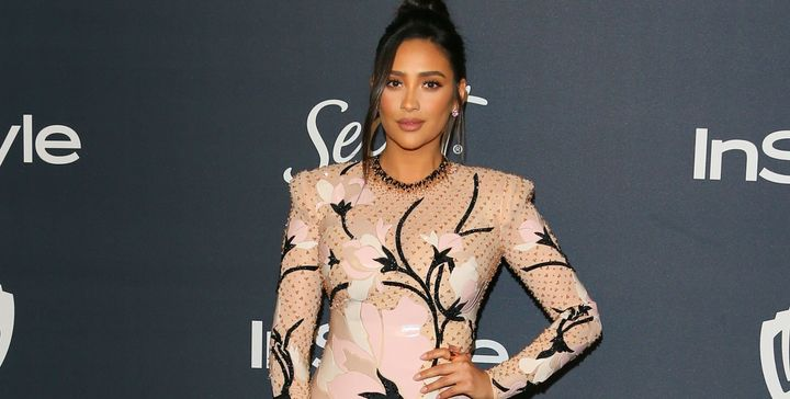 Shay Mitchell at a Golden Globe afterparty on Jan. 5.