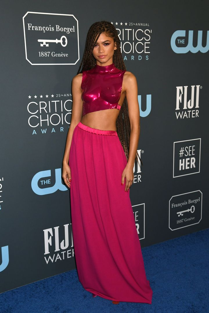 Westlake Legal Group 5e1bb50c2400005300fd415c See All The Fashion From The Red Carpet At The 2020 Critics' Choice Awards