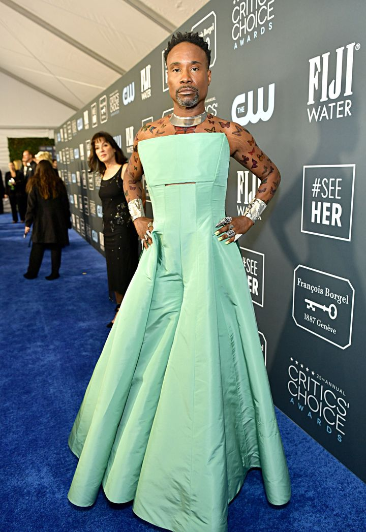Westlake Legal Group 5e1bb55e2400005400fd415d See All The Fashion From The Red Carpet At The 2020 Critics' Choice Awards