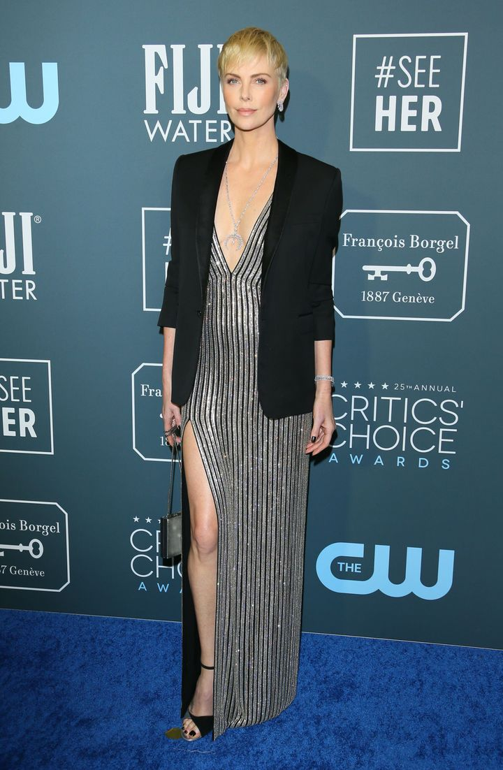 Westlake Legal Group 5e1bb59e2400003400fd415f See All The Fashion From The Red Carpet At The 2020 Critics' Choice Awards