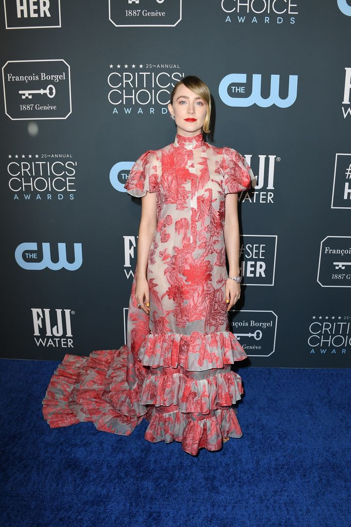 Westlake Legal Group 5e1bb6f12100006000af8a9e See All The Fashion From The Red Carpet At The 2020 Critics' Choice Awards