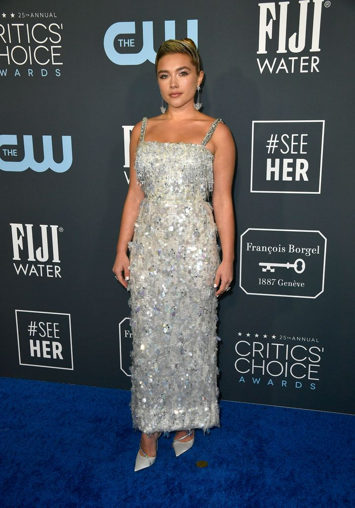 Westlake Legal Group 5e1bb8341d00004f00ecc1e2 See All The Fashion From The Red Carpet At The 2020 Critics' Choice Awards