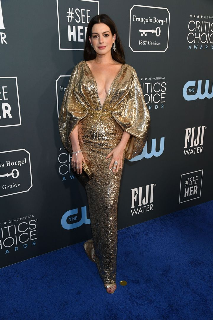 Westlake Legal Group 5e1bbb1d2100003100af8aa3 See All The Fashion From The Red Carpet At The 2020 Critics' Choice Awards