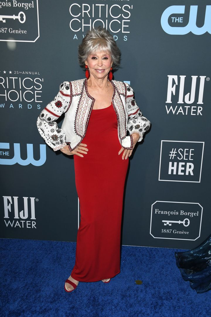 Westlake Legal Group 5e1bbbde21000053001f6b68 See All The Fashion From The Red Carpet At The 2020 Critics' Choice Awards