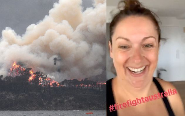 Aussie comedian Celeste Barber will be the master of ceremonies at a marathon-long bushfire concert event...
