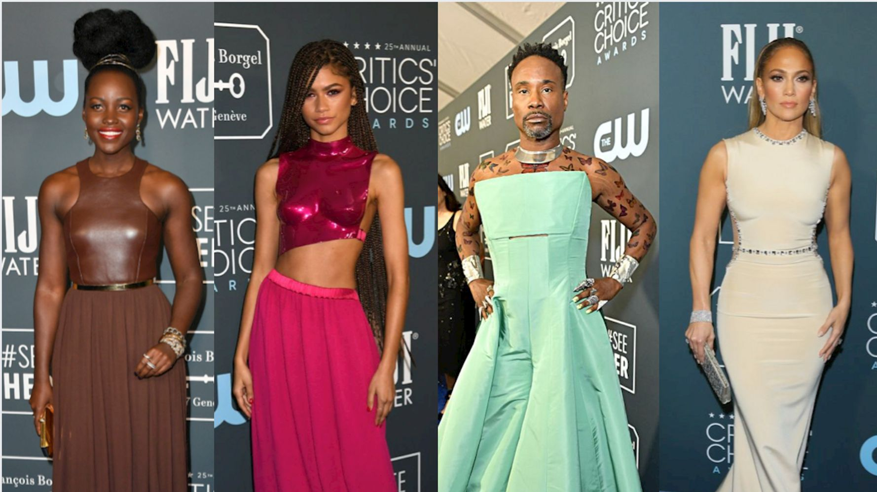 2020 Critics Choice Awards All The Fashion From The Red Carpet Huffpost