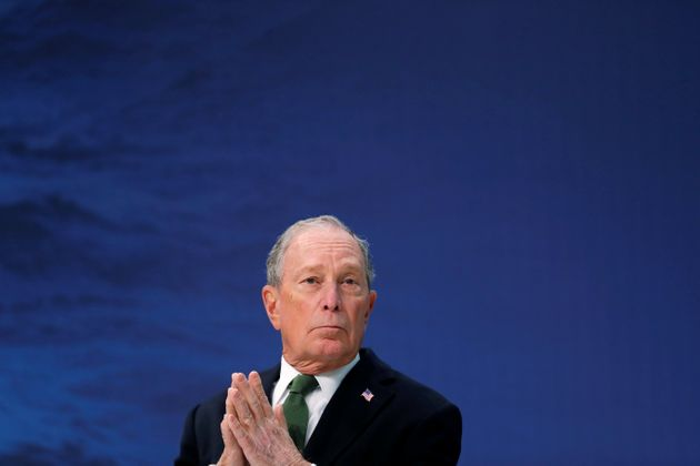 U.S. presidential hopeful Michael Bloomberg attends a roundtable of Global Covenant of Mayors for Climate...