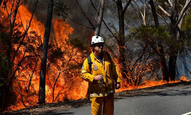 Les pompiers australiens ont réussi à maîtriser un