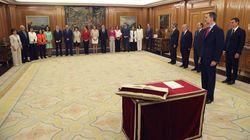 Los ministros de PSOE y UP prometen sus cargos ante el