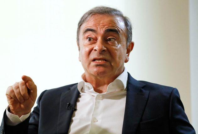 Carlos Ghosn dénonce une farce quant à sa