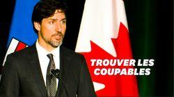 Ému, Justin Trudeau promet la justice aux familles du crash en