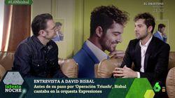 La sincera confesión de David Bisbal sobre sus impuestos en 'laSexta
