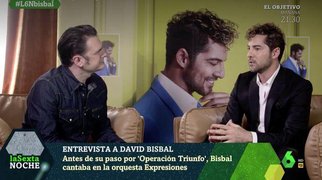 David Bisbal e Iñaki López en 'laSexta