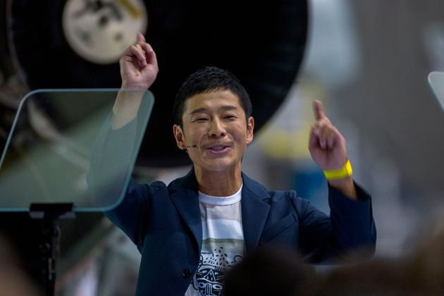 Japanese Billionaire Has A Bonkers Proposition That Is Simply Out Of This World