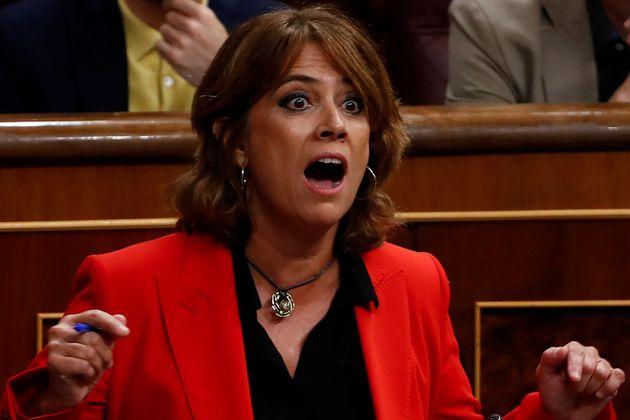 Dolores Delgado, el 26 de septiembre de 2018, en el