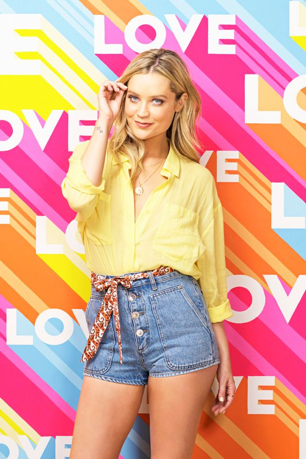 Laura Whitmore has taken over from Caroline Flack as the host of Love