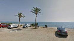 El cadáver hallado en una playa de Almería procedía de una patera, según la Guardia