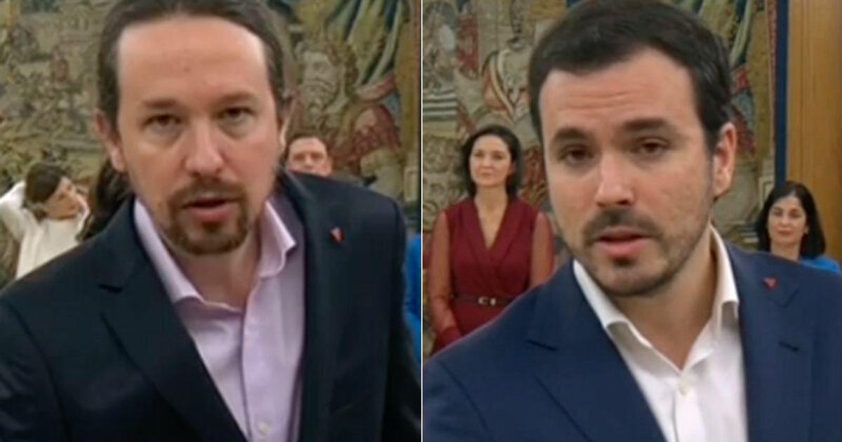 Resultado de imagen de P Iglesias pin jura gobierno