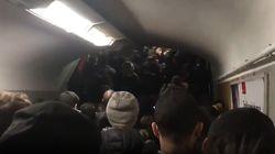 Une ligne du métro parisien (encore plus) paralysée à cause d'un débrayage